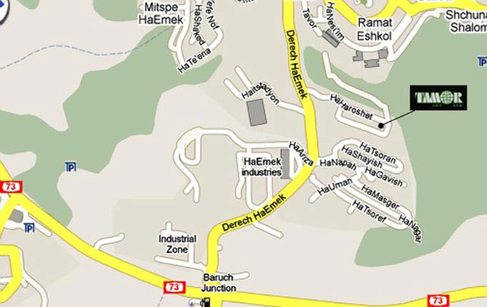Tamor Map